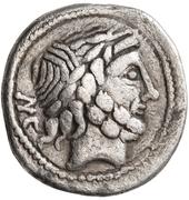 Denarius (Imitation of Roman Republic Denarius) – avers
