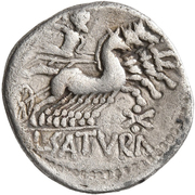 Denarius (Imitation of Roman Republic Denarius) – revers