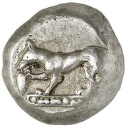 Drachm (Ionian or Lycian mint) – avers