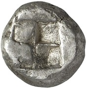 Drachm (Ionian or Lycian mint) – revers