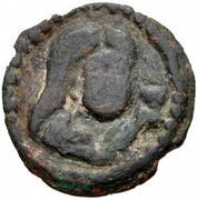Unknown Æ (Uncertain Sogdian mint; Uncertain if Sogdian) – avers