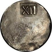 1 shilling NE – revers