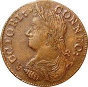 "Connecticut Copper ""Draped Bust"" – avers"