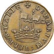 Denarium-Penny (Lord Baltimore) – revers