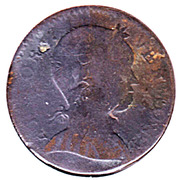 "1 cent ""Vermont Copper"" – avers"