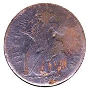 "1 cent ""Vermont Copper"" – revers"