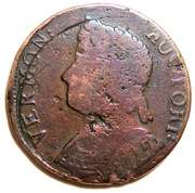 Copper (Bust left) – avers