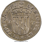 4 Pence  (Lord Baltimore) – revers