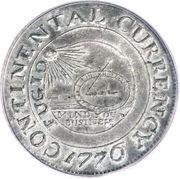 "1 dollar ""The Continental Dollar"" (Essai) – avers"