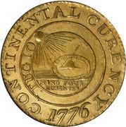 "1 dollar ""The Continental Dollar"" – avers"