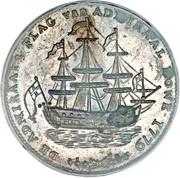 Rhode Island Ship Token – avers