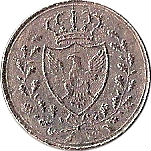1 centesimo - Vittorio Emanuele II – avers
