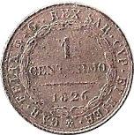 1 centesimo - Vittorio Emanuele II – revers