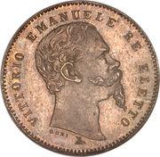 1 lira - Vittorio Emanuele I – avers