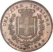 1 lira - Vittorio Emanuele I – revers