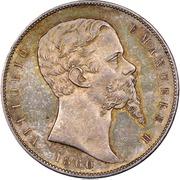 5 lire - Vittorio Emanuele II – avers