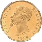 10 lire - Vittorio Emanuele II – avers