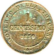 1 centesimo - Vittorio Emanuele I – revers