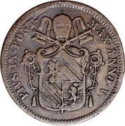 1 centesimo / 1 baiocco (Obverse Trial strike) – avers