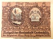 5 Pfennig (Leobschutz) – avers