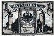 1 Mark (Patschkau) – avers