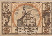 75 Pfennig (Oberglogau) – revers