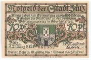 70 Pfennig (Zülz) – avers