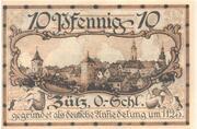 70 Pfennig (Zülz) – revers
