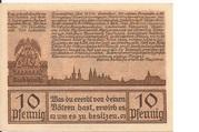 10 Pfennig (Leobschütz) – revers