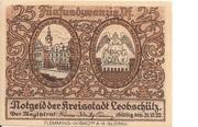 25 Pfennig (Leobschütz) – avers