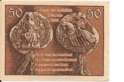 50 Pfennig (Leobschütz) – revers