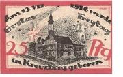 25 Pfennig (Kreuzburg) – revers