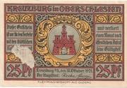 25 Pfennig (Kreuzburg) – avers