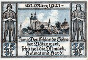 25 Pfennig (Oberglogau) – revers