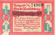 25 Pfennig (Patschkau) – avers