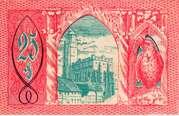 25 Pfennig (Patschkau) – revers
