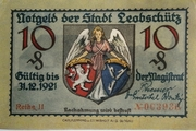 10 Pfennig (Leobschütz) – avers
