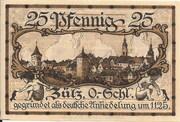 25 Pfennig (Zülz) – revers