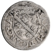 1 vierer Maximilian III – avers