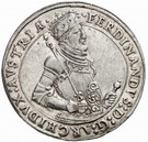 1 thaler Ferdinand II – avers