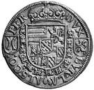 ¼ thaler Ferdinand II du Tyrol – revers
