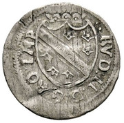 1 vierer Rudolf II – avers