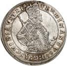 1 thaler Ferdinand II du Tyrol – avers