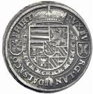 1 thaler Archiduc Ferdinand II du Tyrol – revers