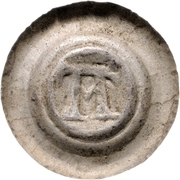 1 Brakteat - Ottokar II. (Zittau) – avers