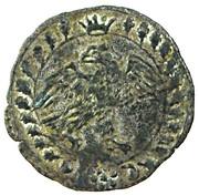 1 Quattrino Francesco Maria II della Rovere – avers