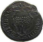 Mezzo Paolo - Guidobaldo II della Rovere – avers