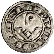 Dinero Armengol VIII Agramunt – avers