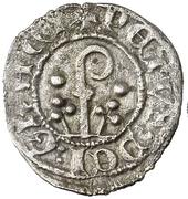Dinero Pierre II de Urgel Agramunt – revers