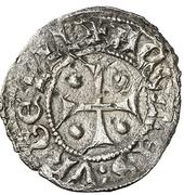 Dinero Pierre II de Urgel Agramunt – avers